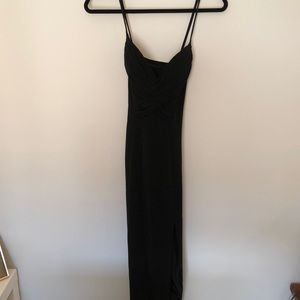 Niteline Della Roufogali Long Black Dress